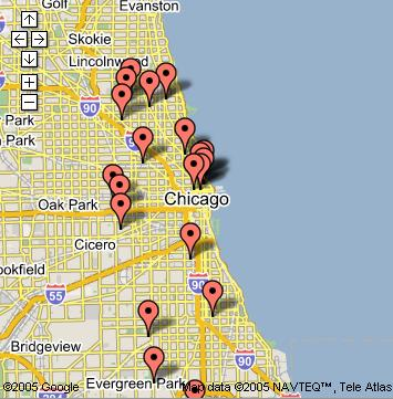 semiquark: Chicago crime maps