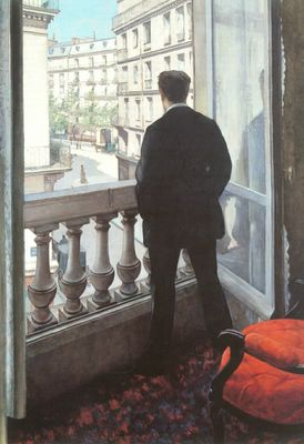 Gustave Caillebotte, «A Young Man at His Window»