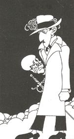 Desenho de Fernando Pessoa, de Abel Manta
