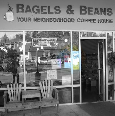 bagels store front