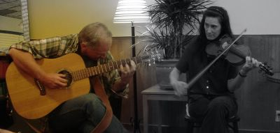 jim griswold + fiddle