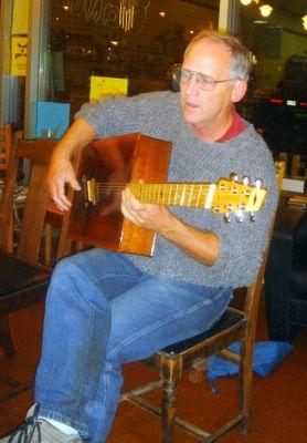 Jim Griswold on Gaffney weirdo guitar