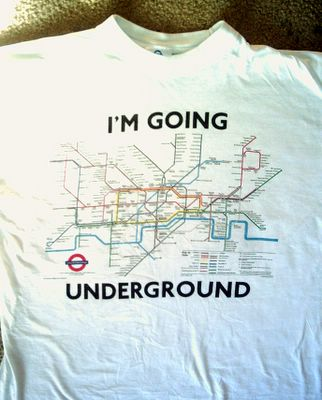 london subway t-shirt