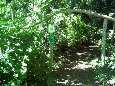 entrance to secret walk