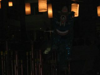 barongsai on action