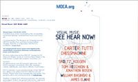 SEE HEAR NOW - Moca - Visual Music Event
