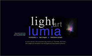 Thomas Wilfred - Light Art