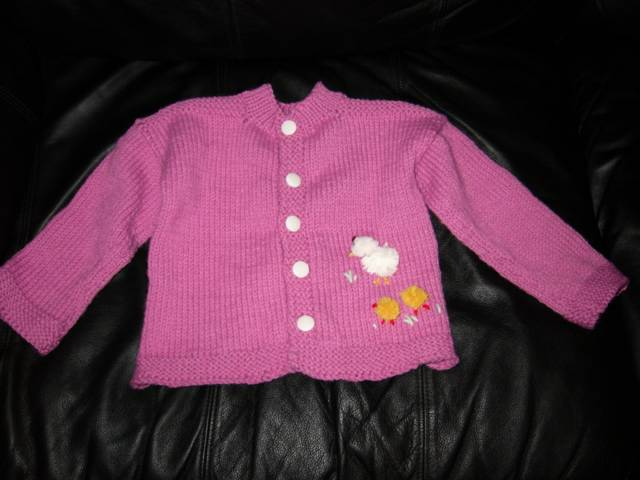 Baby Ensemble Sweater