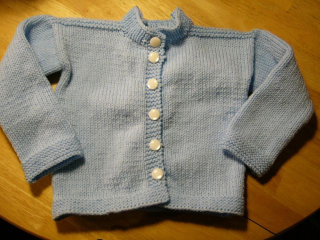 Baby Ensemble Sweater II