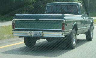 litterbug driving truck #A06250W