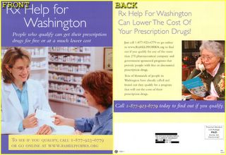 LowLight of Week 11: Rx Help for Washington