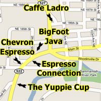 Coffee Shops in Bothell