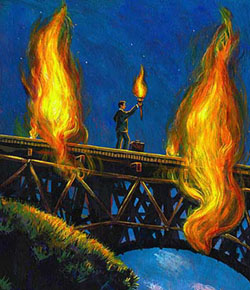 burning my bridges
