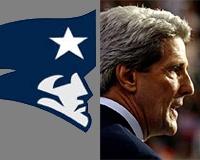 John Kerry / Patriots logo