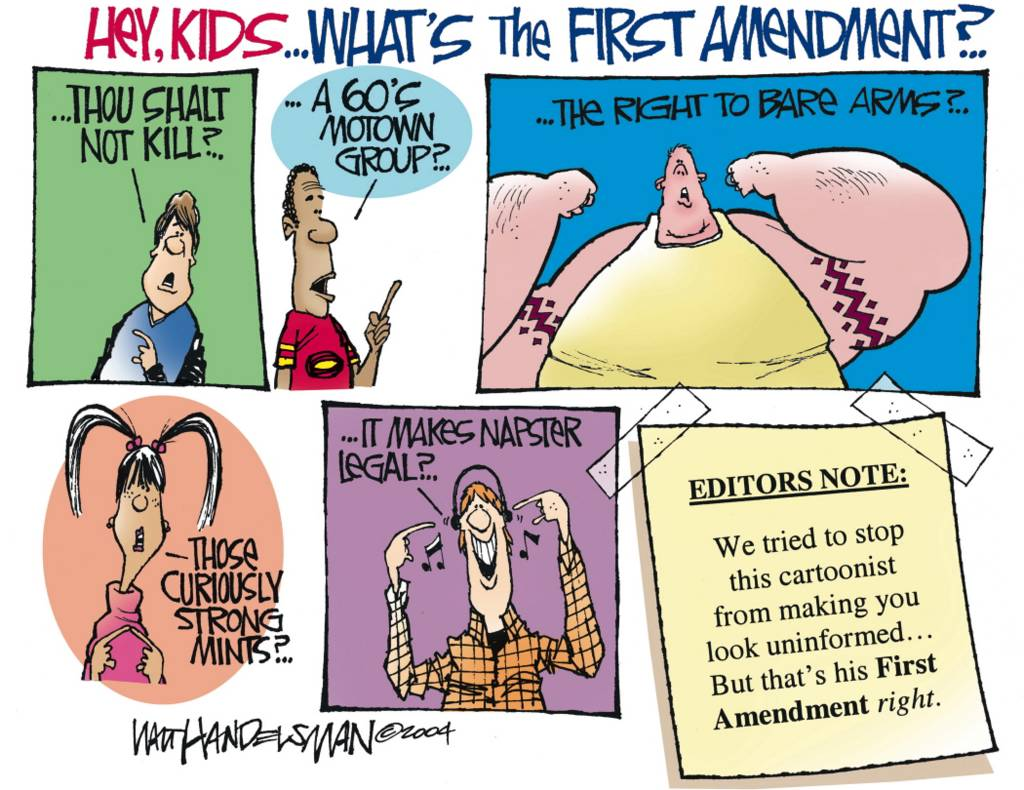 Ghost Town Orange: Panic about the First Amendment to the US ...