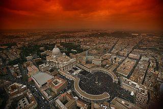 Piazza S.Pietro dall'alto