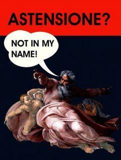 Dio astensione non in mio nome