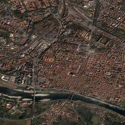 Pavia dal satellite ore 12
