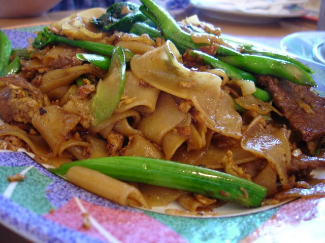 Wide Rice Noodle Cooked
