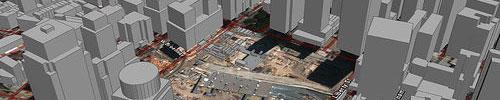 Ground Zero, with Google Earth