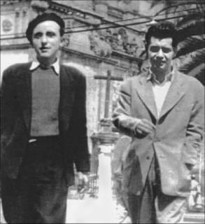 Augusto Monterroso y Otto-Raúl González. Ciudad de México. 1944.