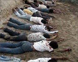 Nepalíes ejecutados