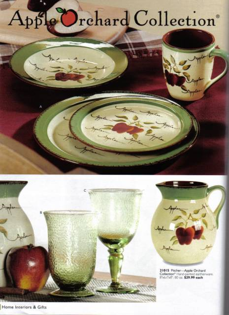 Home interiors for Home interiors apple orchard collection