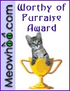 my award from meowhoo