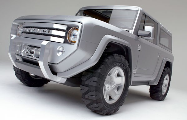 Ford Bronco Concpet With Toyota Bringing Out The FJ40 Landcruiser Should Bring Back This Concept Was Nice Why Not Make It Happen