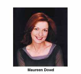 MoDo - Maureen Dowd
