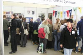 Science Fiction and Fantasy in Finland booth