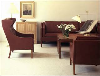 borge mogensen sofa danish furniture 2213 fredericia hans wegner moma