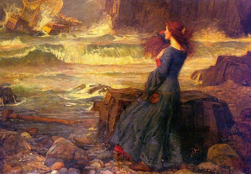John William Waterhouse Miranda The Tempest