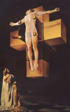 Crucifixion 'Corpus Hypercubus'