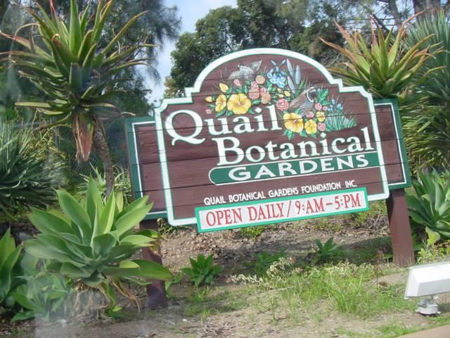 Quail Botanical Gardens, Carlsbad CA
