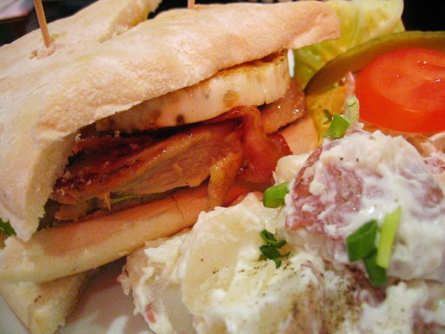 Bomber's Club Sandwich