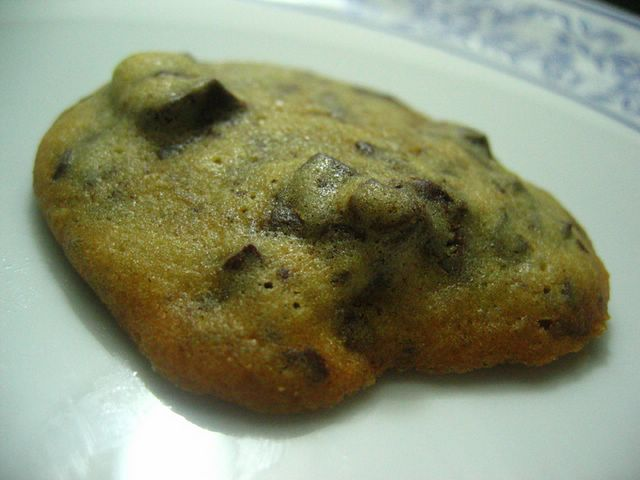 Chewy Centred Choc Chip Cookie