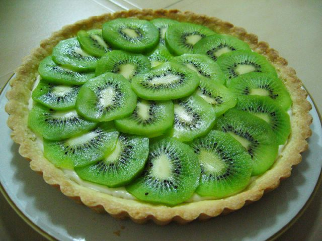Very Green Kiwi Tart