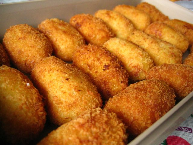 Croquettes all packed up