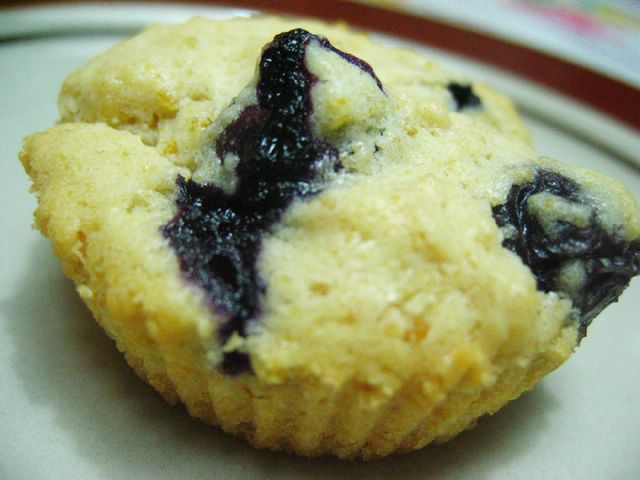 Blueberry Corn Mini-Muffins Recipe — Dishmaps
