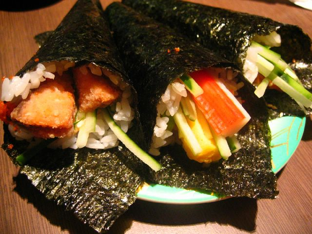California Handrolls