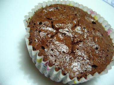 choc cupcake