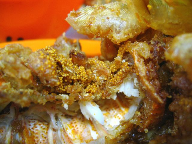 Crayfish roe