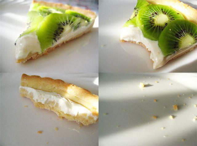 Fast Disappearing Kiwi Tart