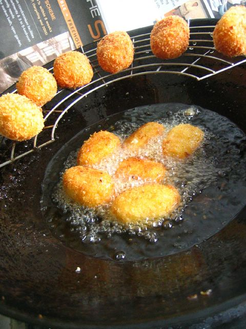 Frying Croquettes