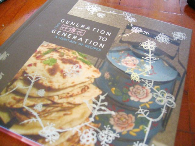 Generation to Generation cookbook