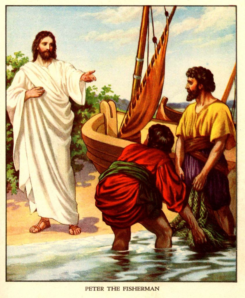 GOD Calling: JESUS said: FOLLOW ME, AND I WILL MAKE YOU FISHERS OF MEN ...