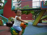 abby at the playground