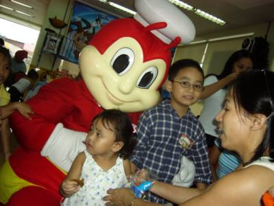 Jollibee with Abby, Alex and Sallie