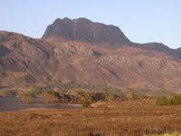 Slioch and Loch Maree - Friday evening